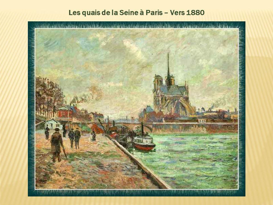 Zola, dans son article en 1880 écrivit : « Le Naturalisme au Salon » « Les véritables révolutionnaires de la forme apparaissent avec M. Edouard Manet