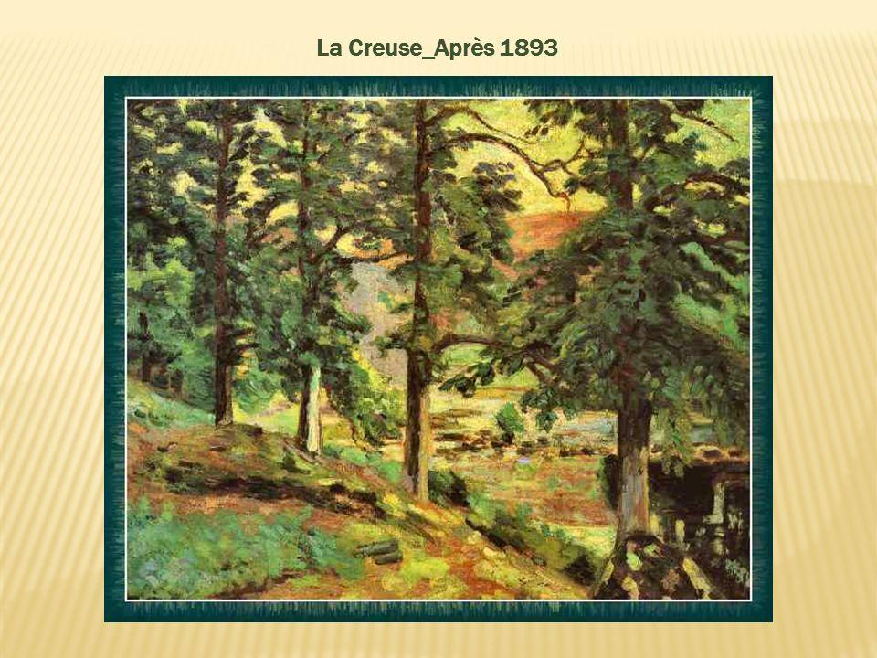 Paysage de l'ile de France - vers 1890