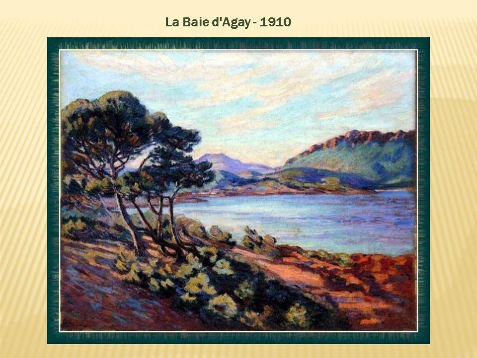 La Baie d'Agay_Côte d'Azur_1910