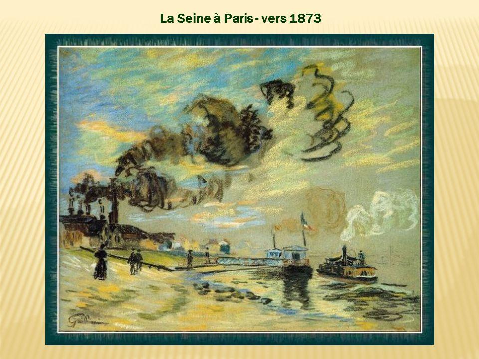 Soleil couchant à Ivry – 1873