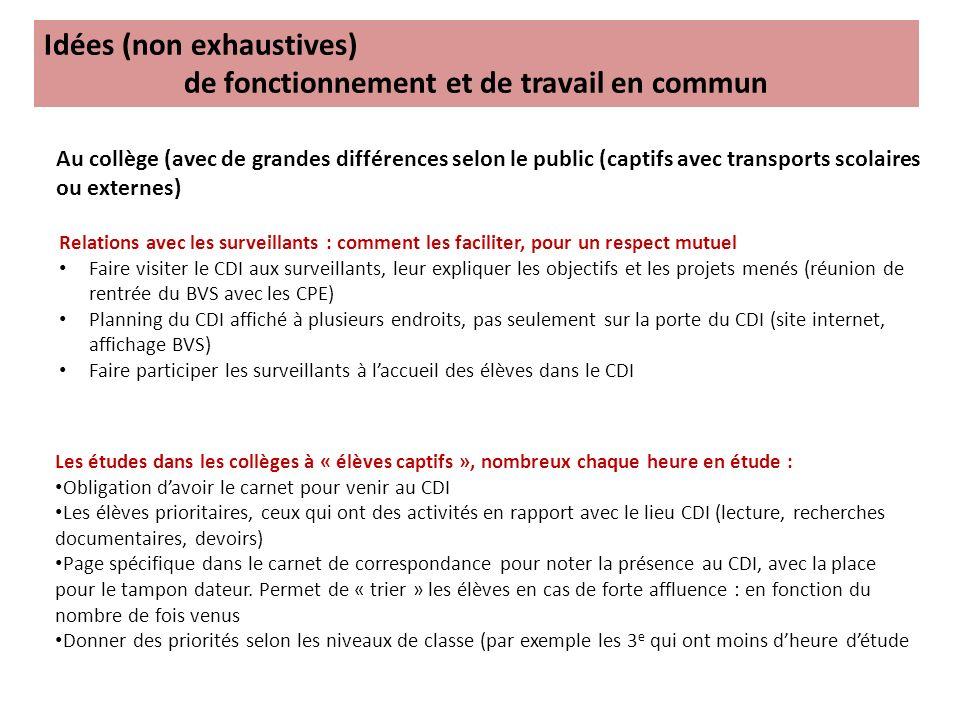 DénominationArticles décret Composition (en lycée) Qualité membres Rôle sommaire Fréquence de réunion Équipes pédagogiques par discipline.
