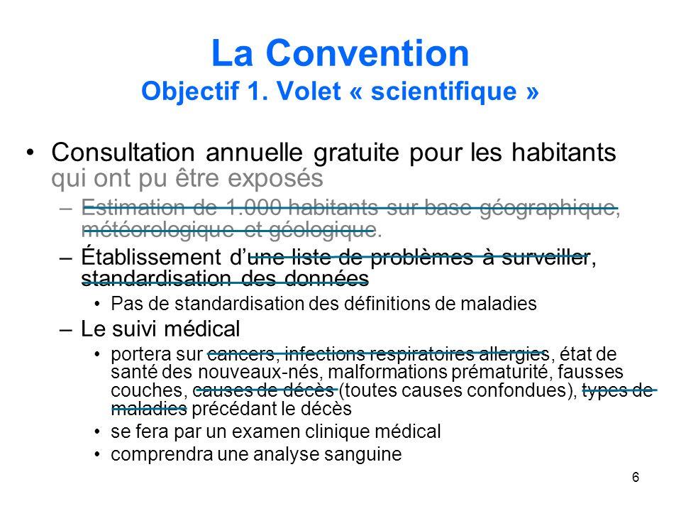 6 La Convention Objectif 1.