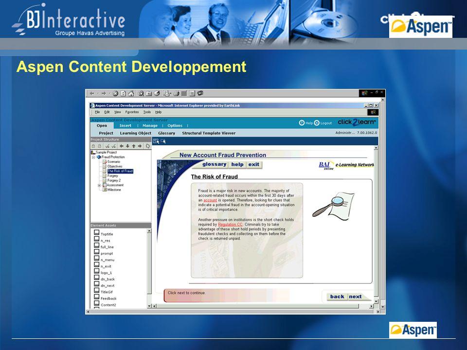 Aspen Content Developpement