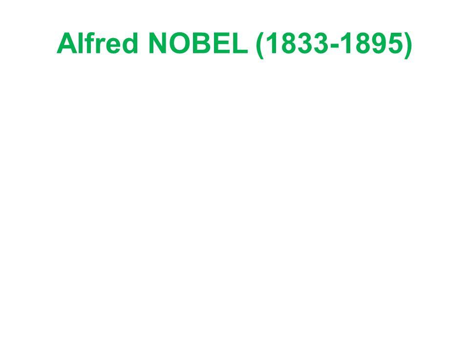 Alfred NOBEL (1833-1895)