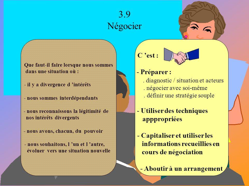 3.8 Se concerter Que faut-il faire lorsque nous sommes dans une situation où : - il y a un intérêt commun à agir ensemble - il n y a que des divergenc