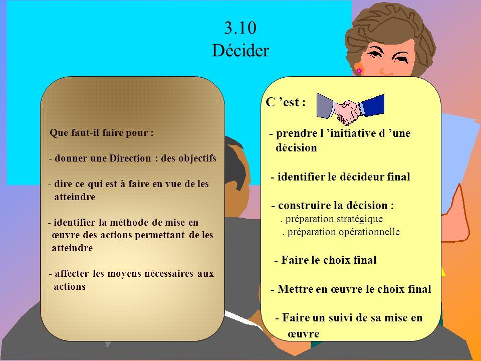 3.9 Négocier Que faut-il faire lorsque nous sommes dans une situation où : - il y a divergence d intérêts - nous sommes interdépendants - nous reconna