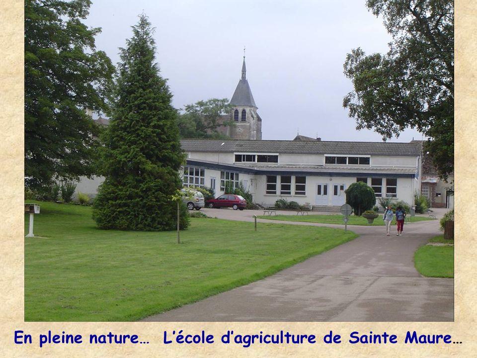 En pleine nature… Lécole dagriculture de Sainte Maure…