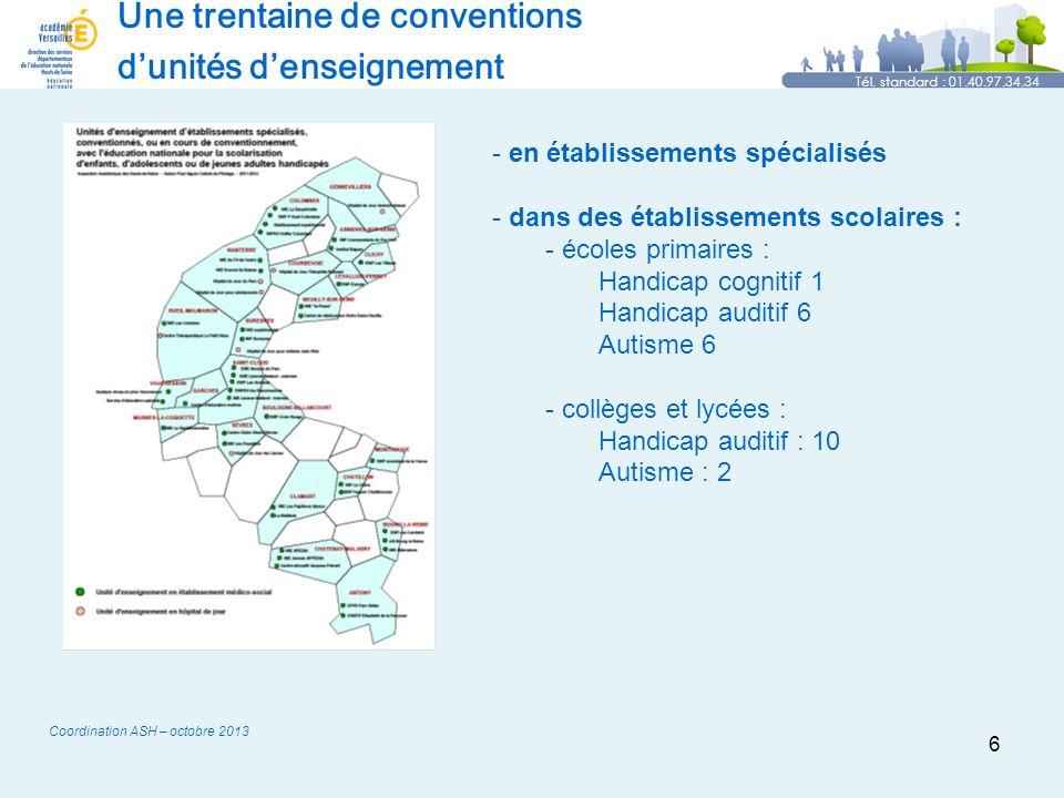6 Une trentaine de conventions dunités denseignement Tél.