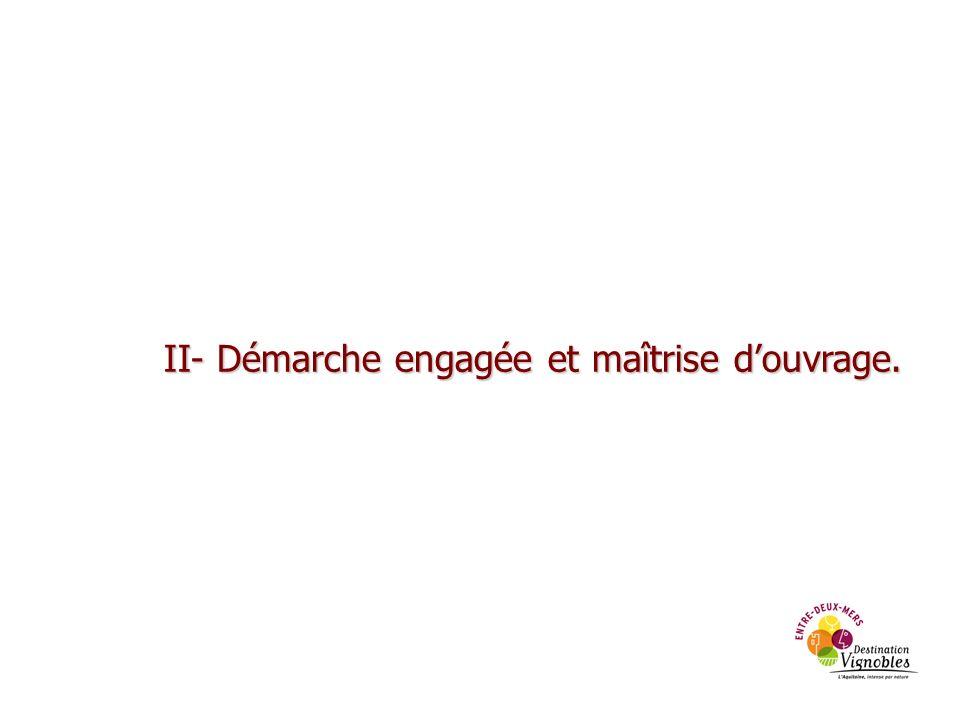 Démarche engagée LEntre-deux-Mers se situe aux portes de Bordeaux et de sa Communauté Urbaine regroupant 660 000 habitants, excursionnistes et touristes potentiels pour le territoire.