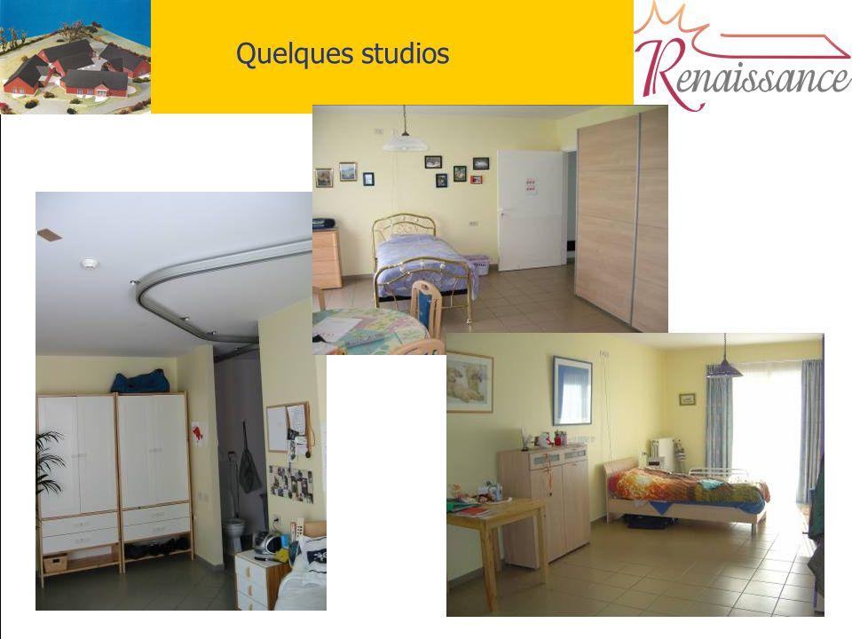 15 Quelques studios