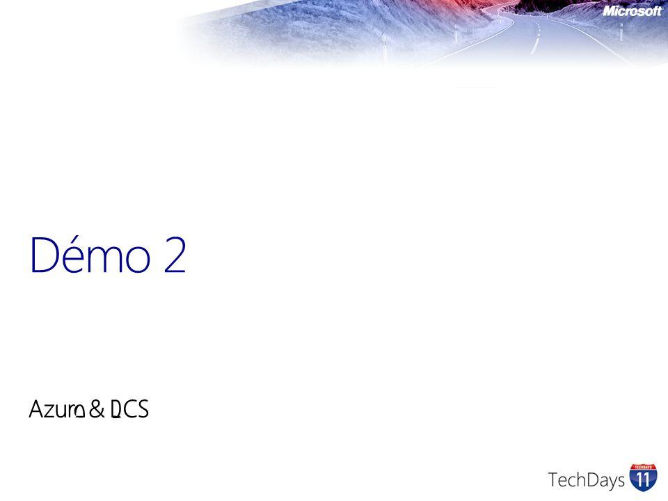 Azure & BCS Démo 2