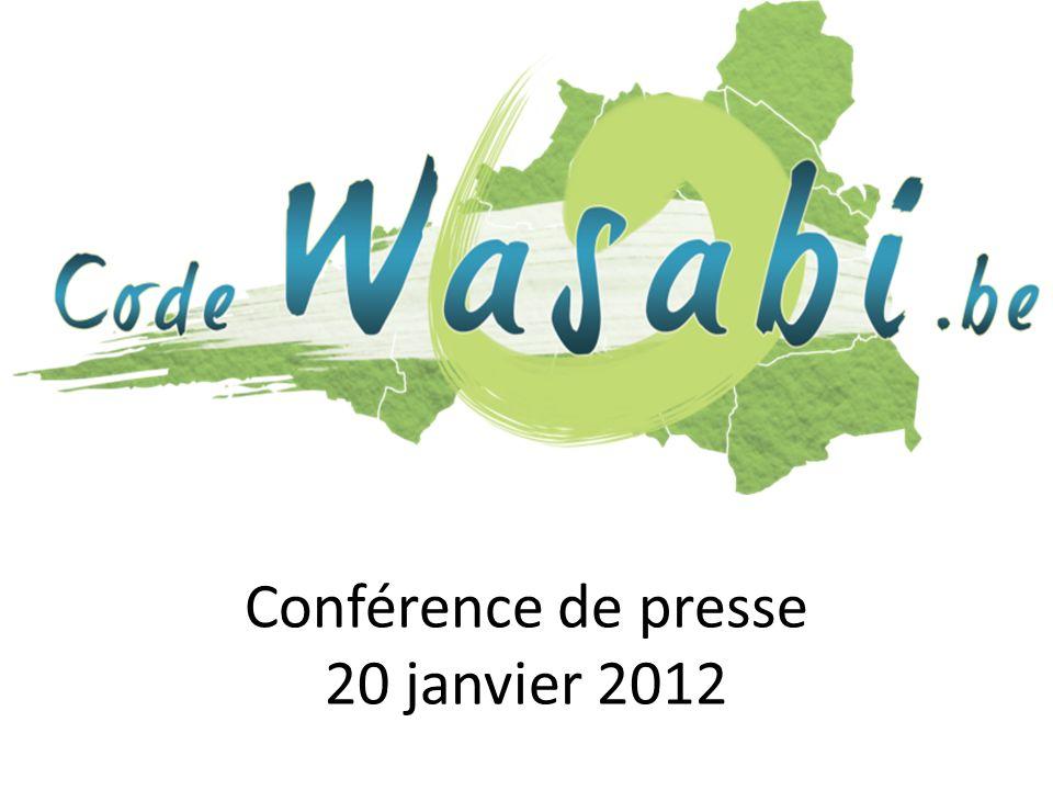 Conférence de presse 20 janvier 2012