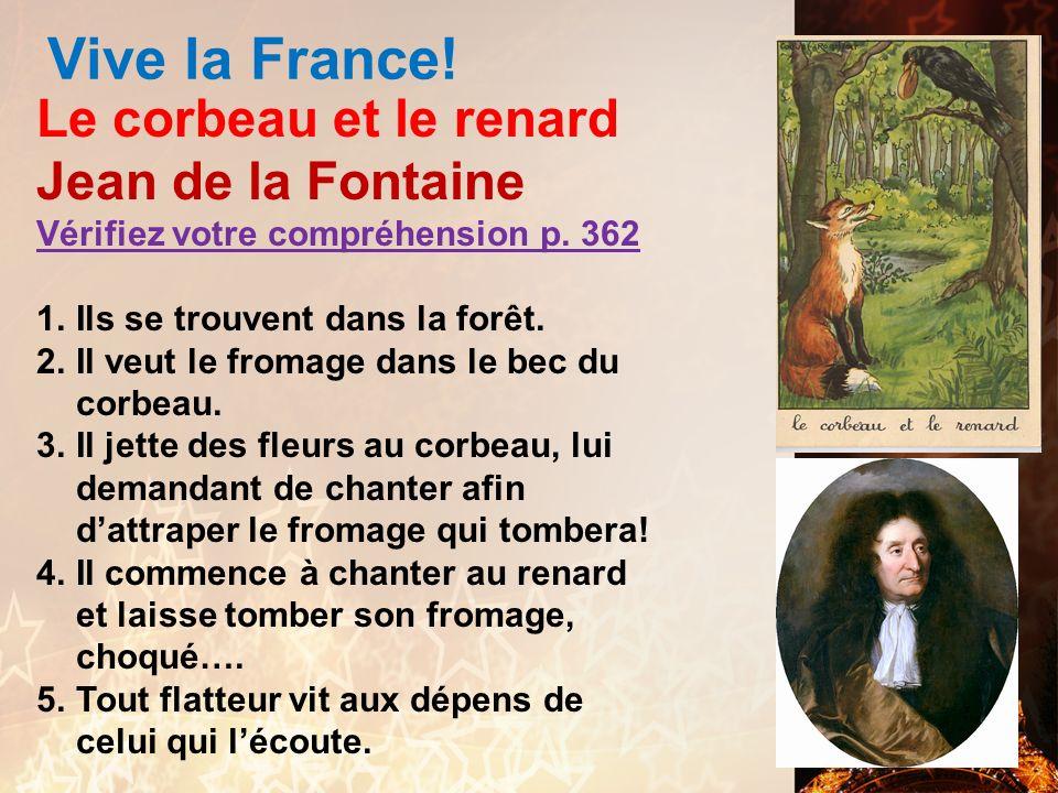 Vive la France! > Pierre de Ronsard Vérifiez votre compréhension p. 360 1.Pierre de Ronsard parle à sa petite-amie / Cassandre. Ils sont dans un jardi