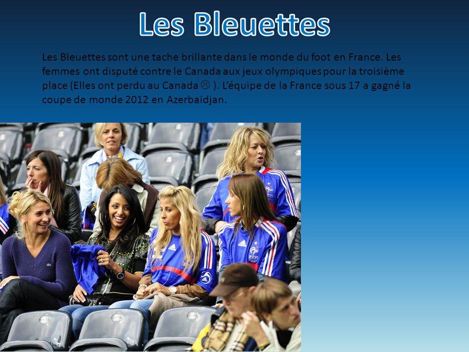 Les Bleuettes sont une tache brillante dans le monde du foot en France. Les femmes ont disputé contre le Canada aux jeux olympiques pour la troisième