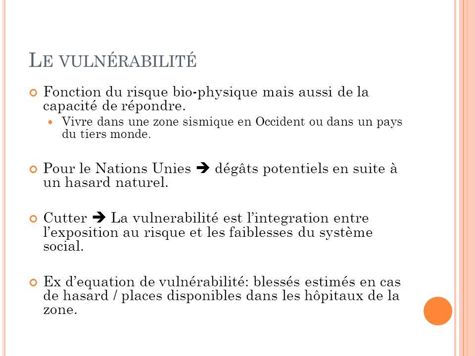 L A PRÉVENTION Etudes précédentes indiquaient déjà la vulnérabilité du système de LAquila en cas de séisme.