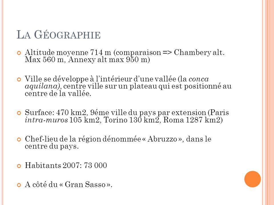 L A G ÉOGRAPHIE
