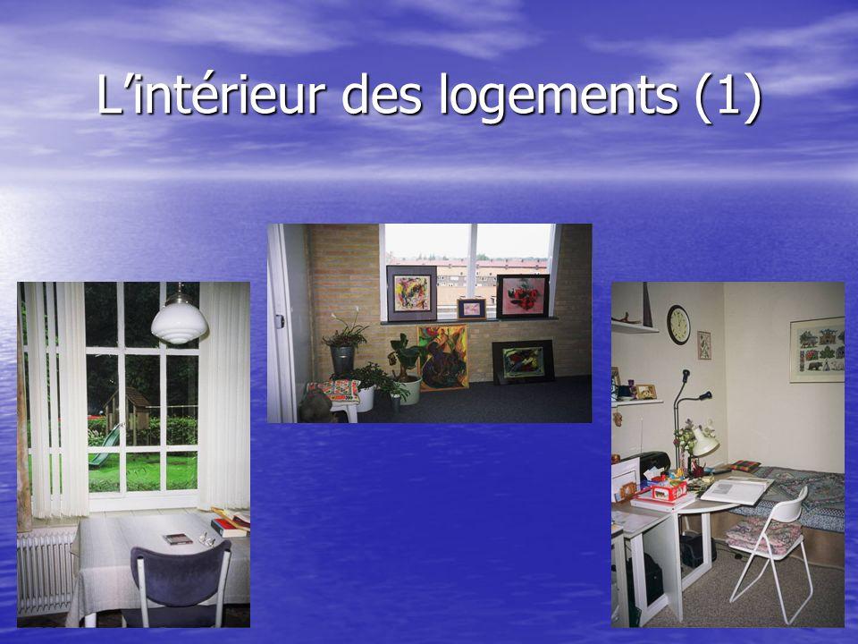 Lintérieur des logements (1)