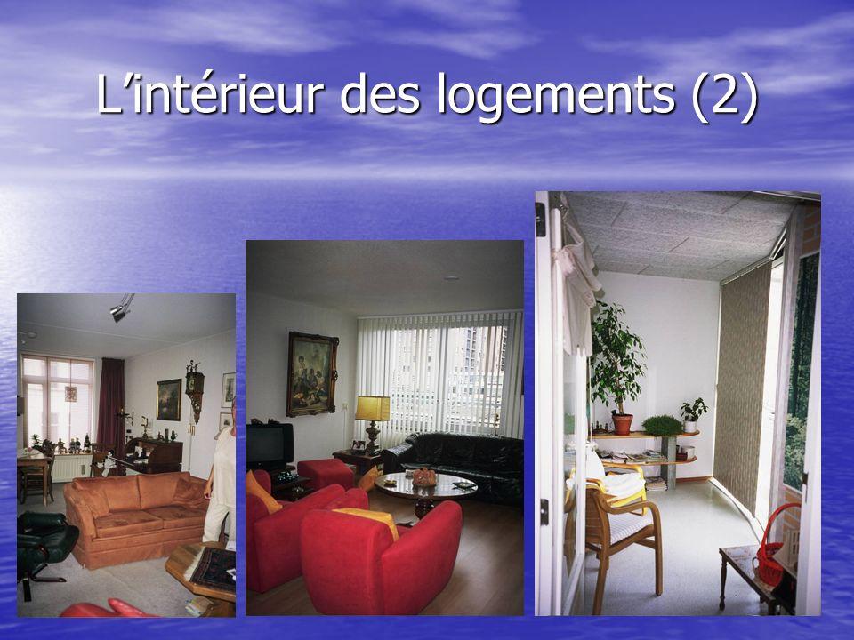 Lintérieur des logements (2)