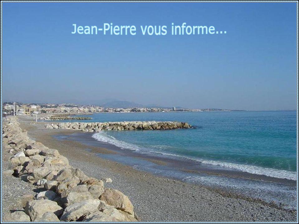18 Janvier 2014, 10H30 : La plage, entre lembouchure du Var et lembouchure du Loup !!