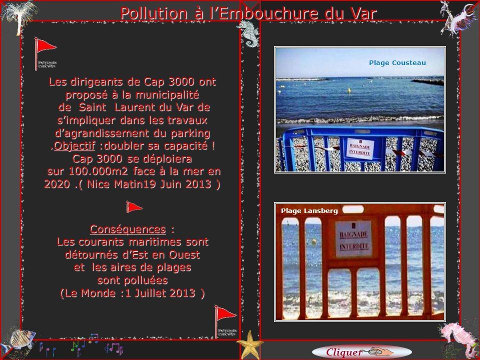 Le littoral maritime de Cagnes, devrait être celui d une station balnéaire et non pas une enfilade de 6 restaurants de plage dont les fondations sont