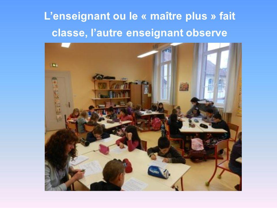 L école a mis en place de lenseignement par modules de compétences.