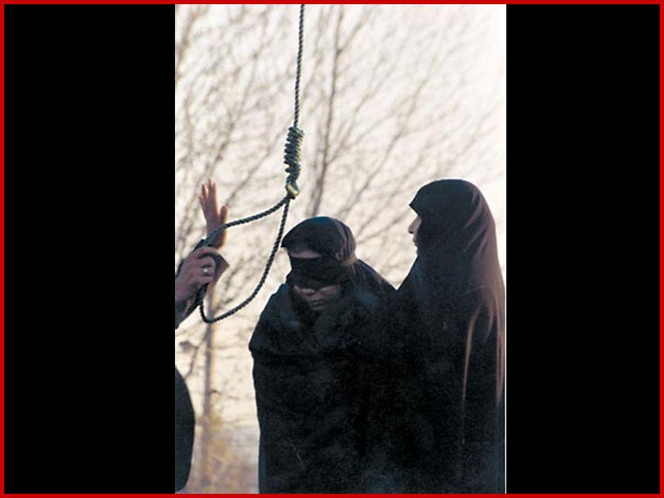 Bastonnade publique Le journal de Téhéran du 18 février a annoncé que le 15 février trois jeunes gens ont été battus en public sur la place Vanak à Téhéran.