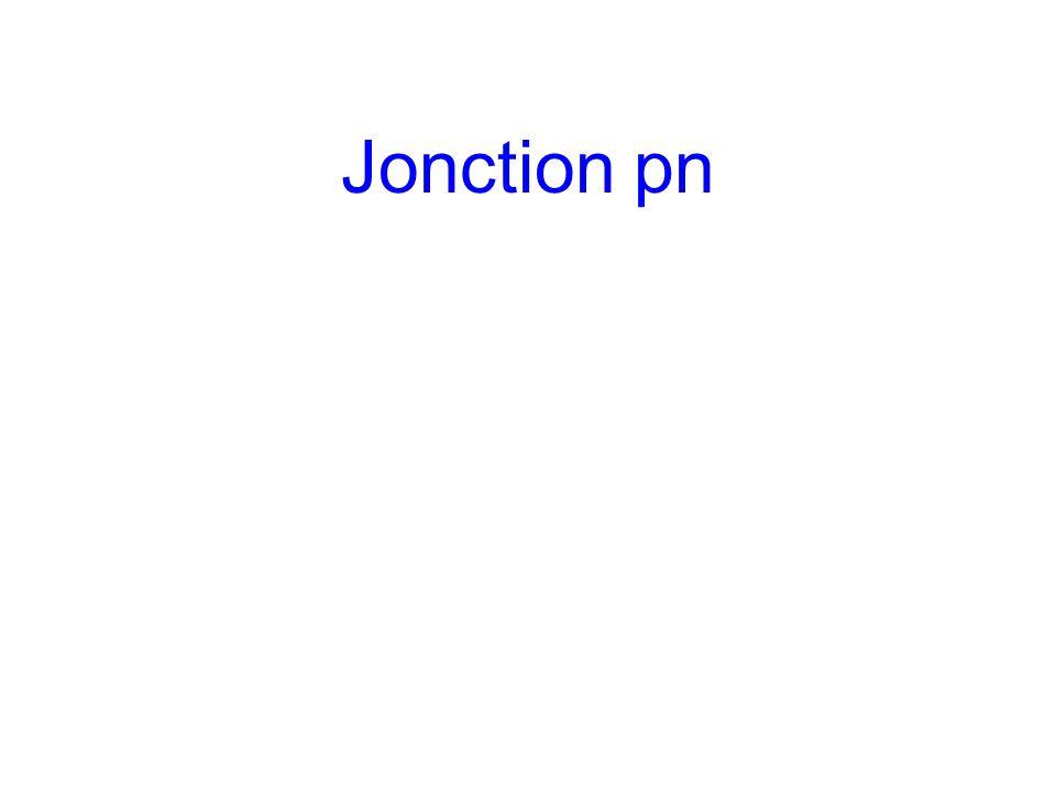 Jonction pn