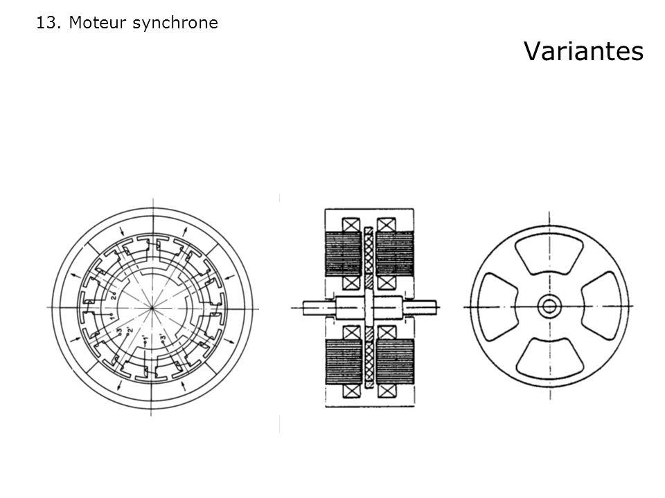 13. Moteur synchrone Variantes