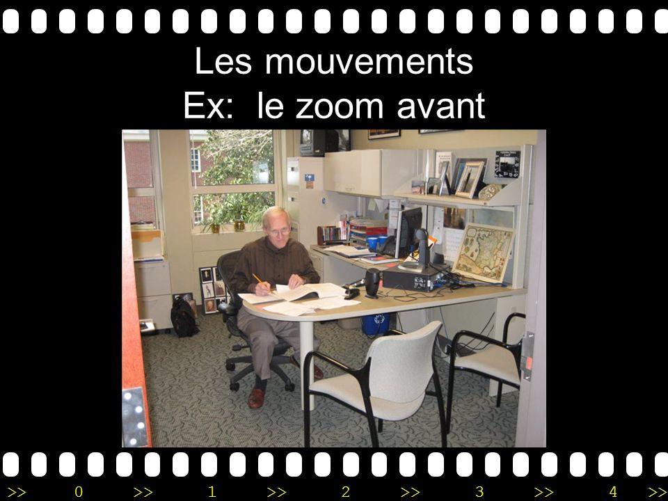 >>0 >>1 >> 2 >> 3 >> 4 >> Les mouvements Ex: le zoom avant