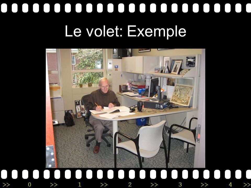 >>0 >>1 >> 2 >> 3 >> 4 >> Le volet: Exemple