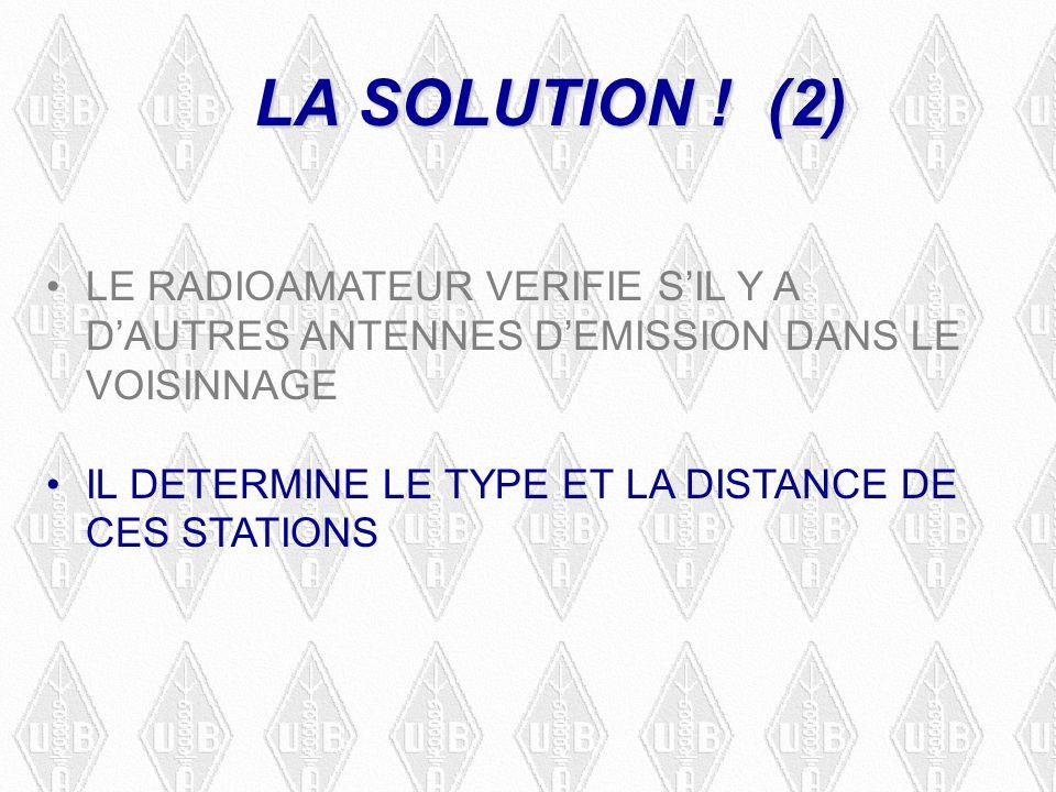 LA SOLUTION .