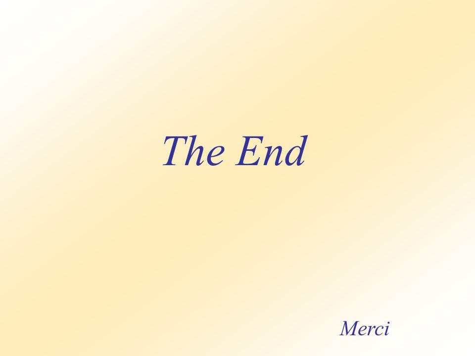 The End Merci