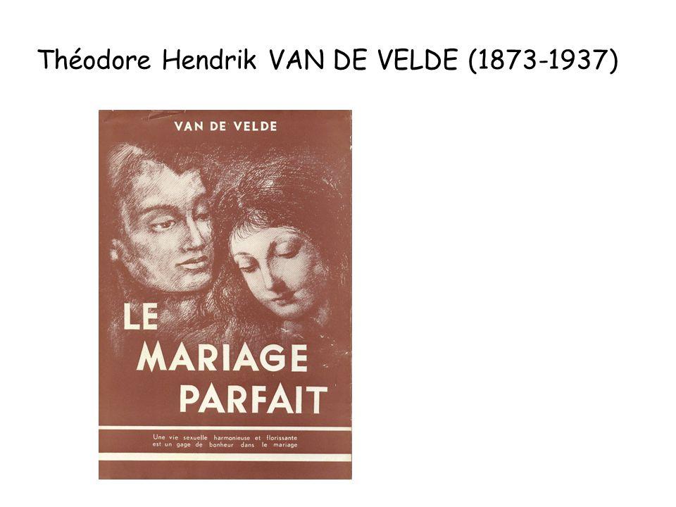 Théodore Hendrik VAN DE VELDE (1873-1937)