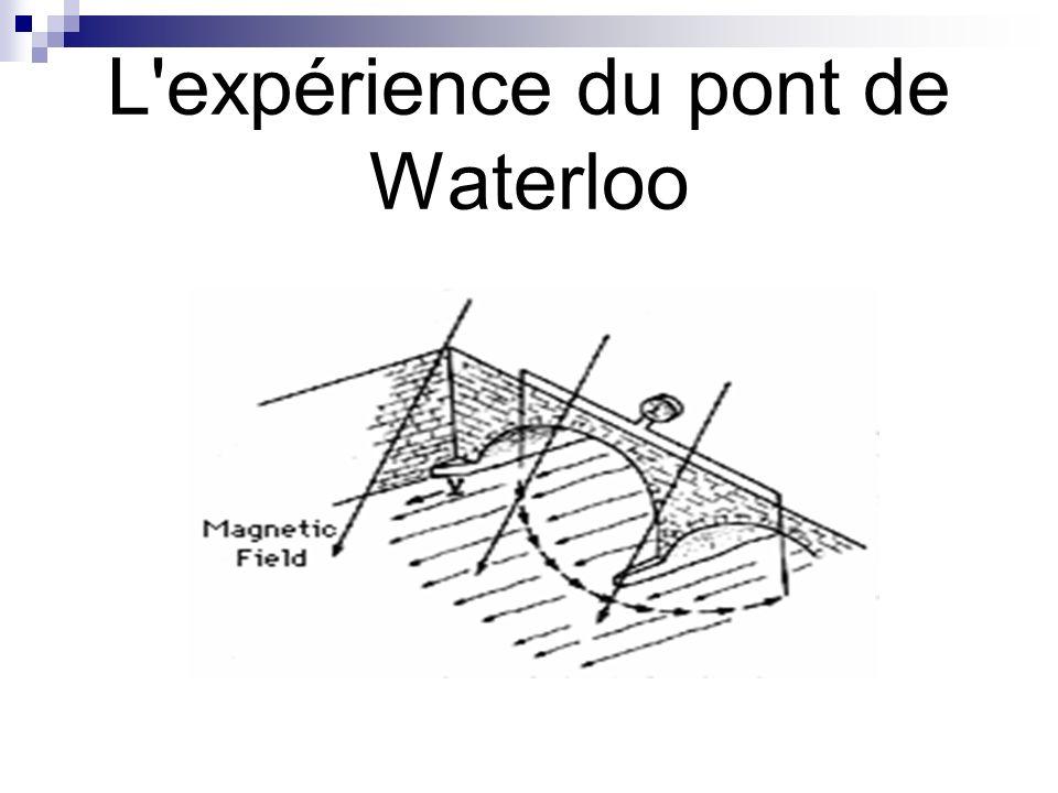 L'expérience du pont de Waterloo