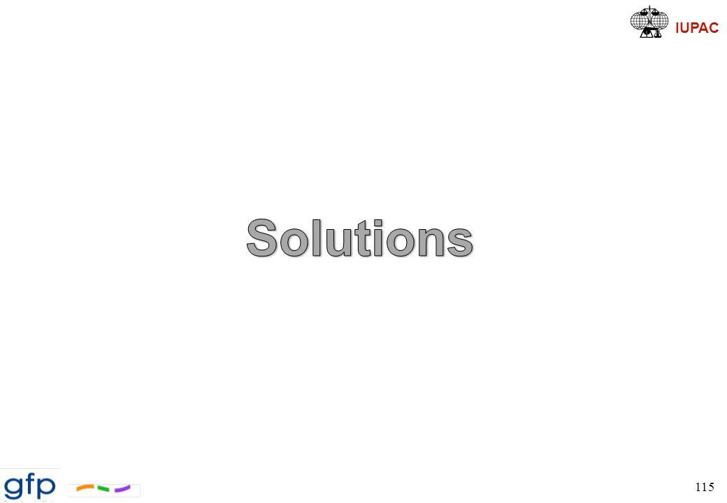 IUPAC Modélisation Moléculaire et Solutions Techniques de modélisation pour l étude de la miscibilité ð QSPR » basée sur la théorie de FH » systèmes simples non dominés par interactions spécifiques effets entropiques non-combinatoires ð Simples calculs atomistiques ð Analyse de systèmes avec clp ð PRISM: Polymer Reference Interaction Site Model inclut les effets d empaquetage (i.e.