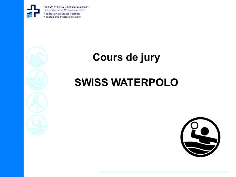 Member of Swiss Olympic Association Schweizerischer Schwimmverband Fédération Suisse de natation Federazione Svizzera di Nuoto Cours de jury SWISS WAT
