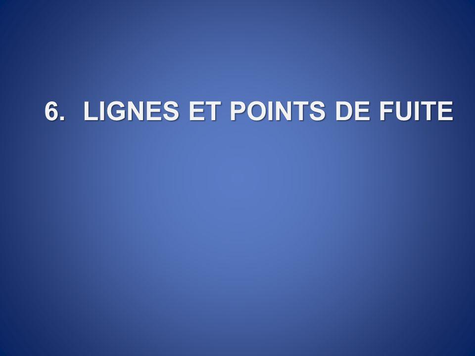 6.LIGNES ET POINTS DE FUITE