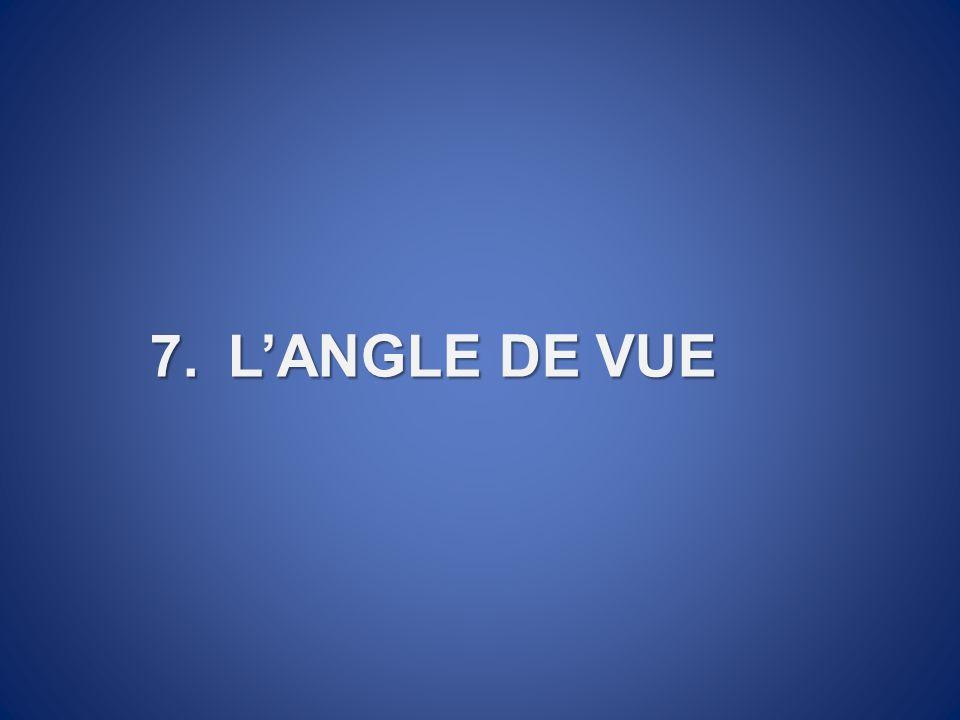 7.LANGLE DE VUE