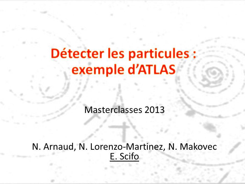 Masterclasses 2013 N. Arnaud, N. Lorenzo-Martinez, N. Makovec E. Scifo