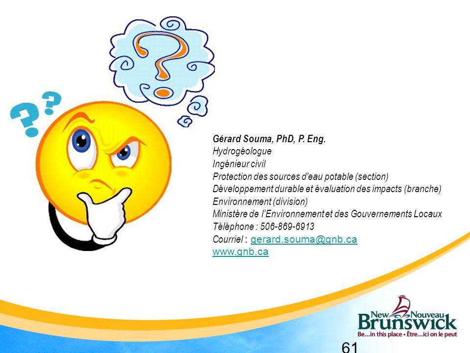 61 Gérard Souma, PhD, P.Eng.