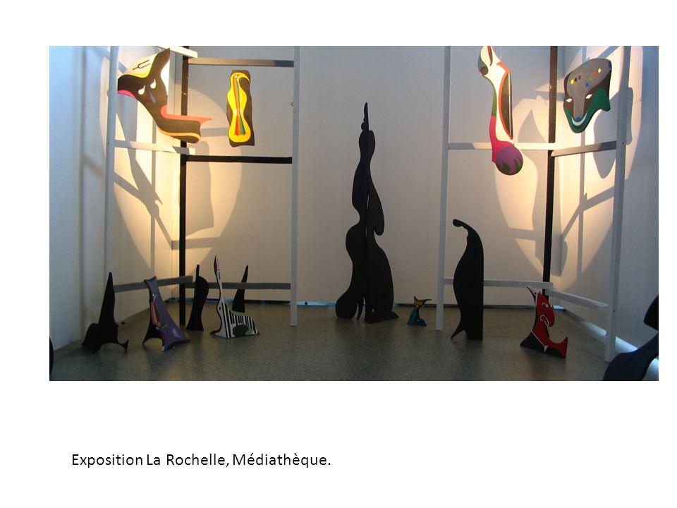 Exposition La Rochelle, Médiathèque.