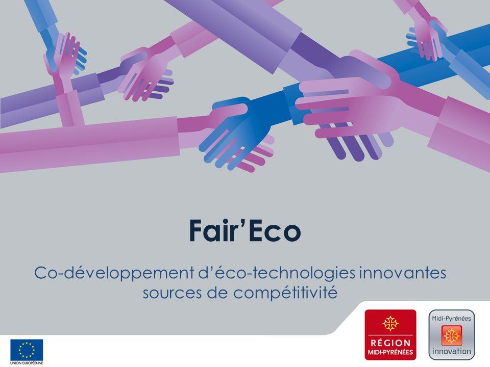 FairEco Co-développement déco-technologies innovantes sources de compétitivité