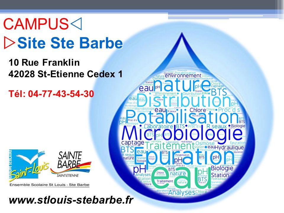 10 Rue Franklin 42028 St-Etienne Cedex 1 Tél: 04-77-43-54-30 www.stlouis-stebarbe.fr