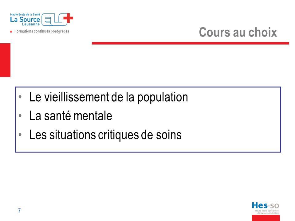 Formations continues postgrades Vos questions 18 Inscriptions jusquà fin mai 2014 à m.chiolero@ecolelasource.ch m.chiolero@ecolelasource.ch 079 637.53.14 ou 027 398 22 14 Précisez le ou le modules que vous désirez suivre