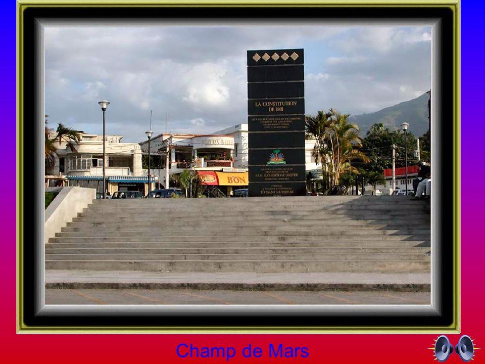 Saut Mathurine aux Cayes