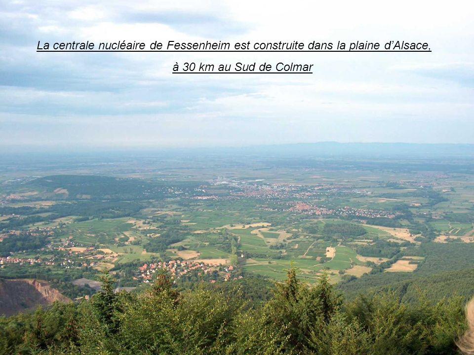 La plaine dAlsaceLa centrale nucléaire de Fessenheim est construite dans la plaine dAlsace, à 30 km au Sud de Colmar