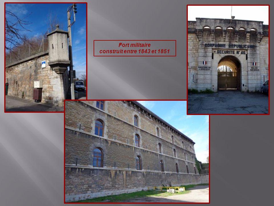 Fort militaire construit entre 1843 et 1851