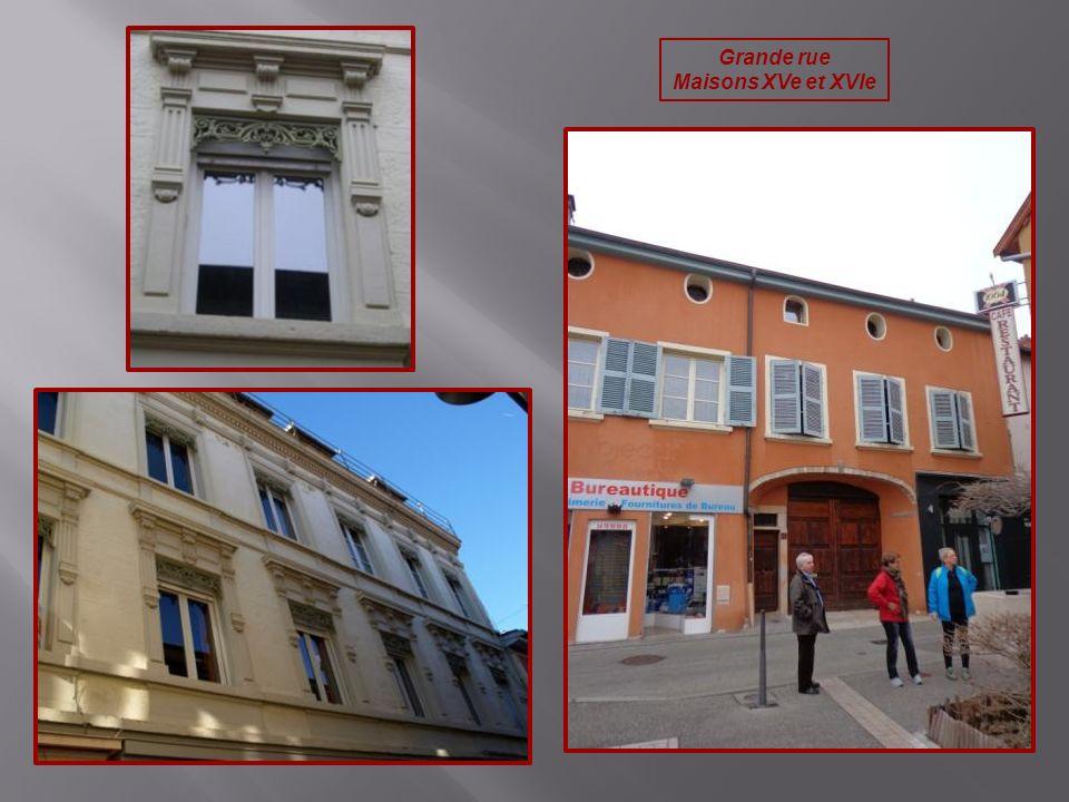 Grande rue Maisons XVe et XVIe
