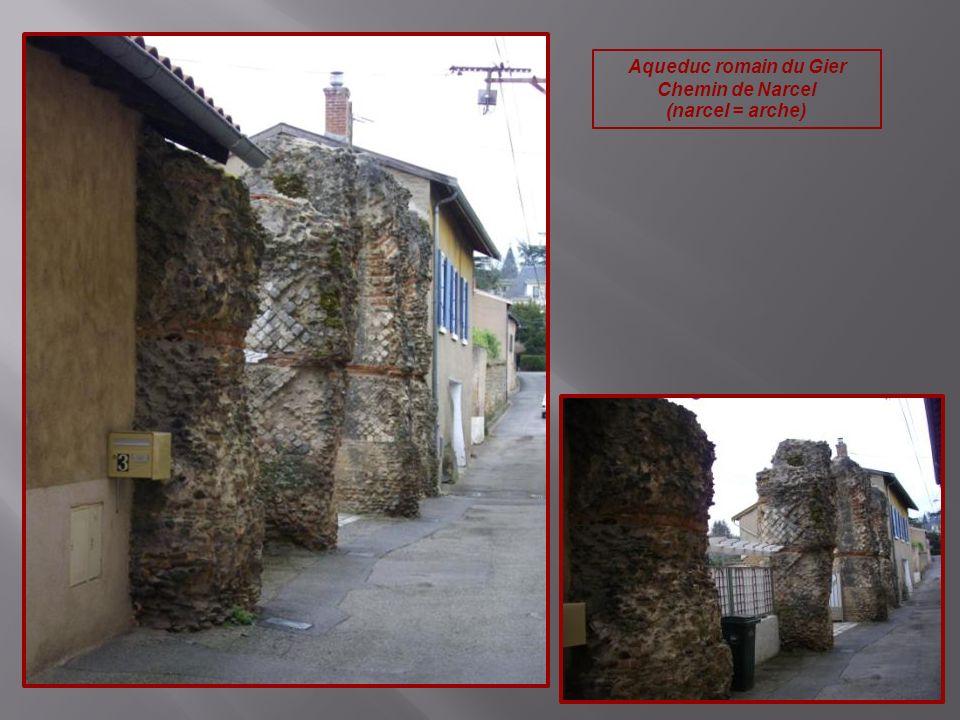 Aqueduc romain du Gier Chemin de Narcel (narcel = arche)