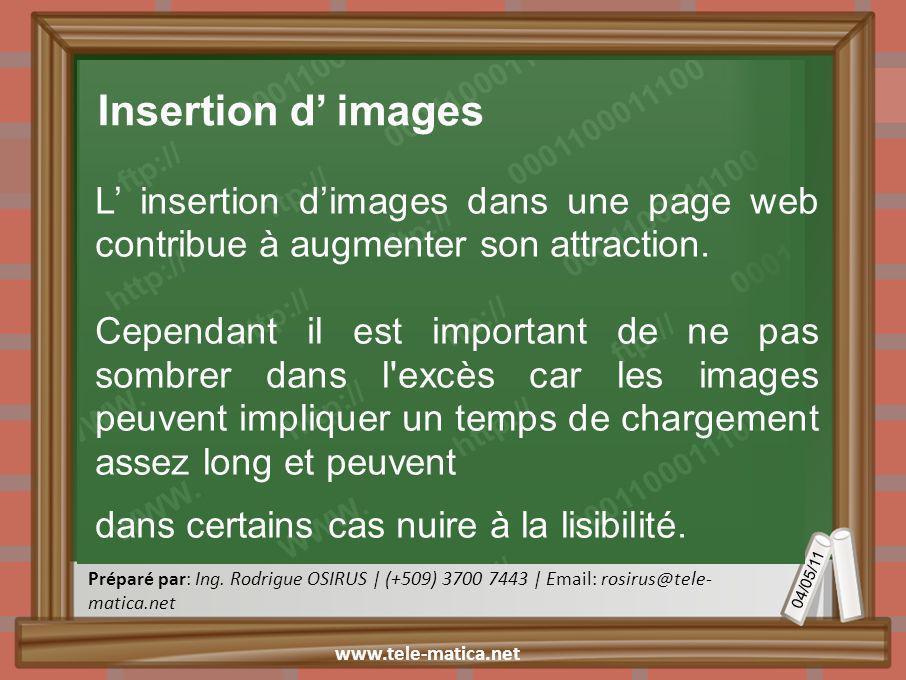 04/05/11 Préparé par: Ing.
